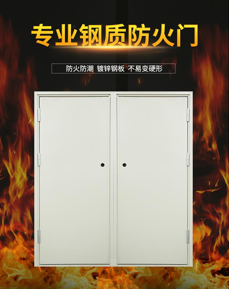 钢zhi防火门(甲级yi级bing级)(图1)