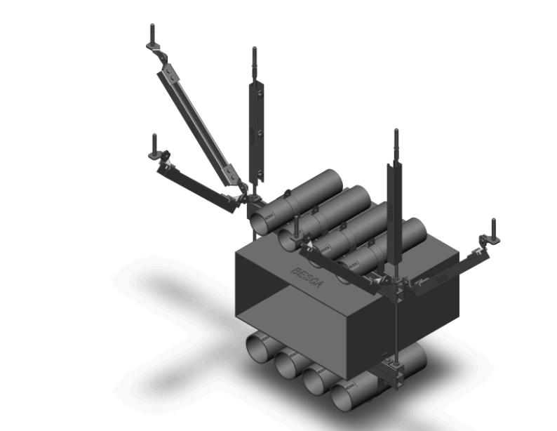 管道风管组合式抗震支架