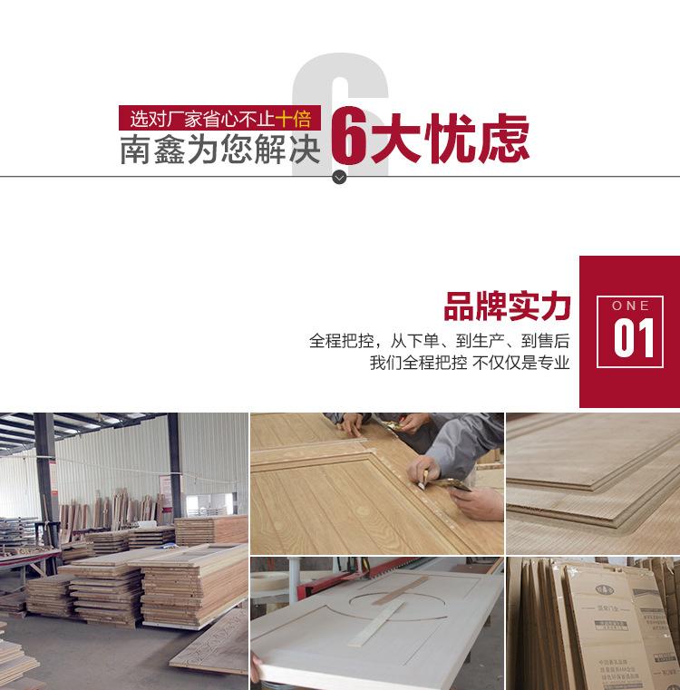 防火实木复合烤漆门_认准南鑫品牌专业生产厂家(图5)